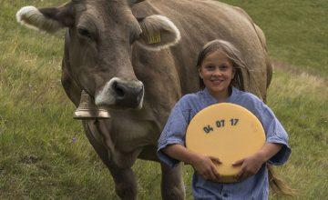Kuh, Kind und Käse